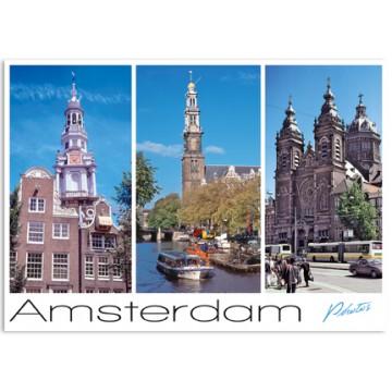 Amsterdam A04 South church West church St Nicolaas church