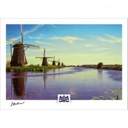 h21-002 Windmills Kinderdijk
