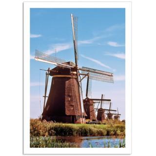 -Holland2400 ansichtkaart vijf Molens