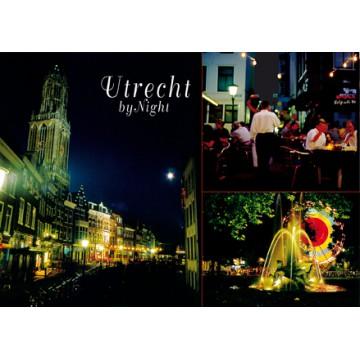 Utrecht 09 dom terrasses by night