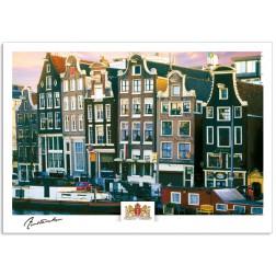 Amsterdam a17-003 postcard amstel