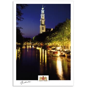 Amsterdam a17-008 Prinsengracht West church