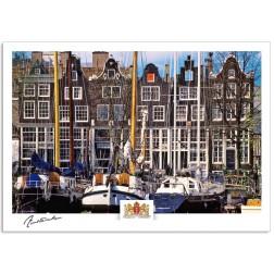 Amsterdam a17-012 Zandhoek boats