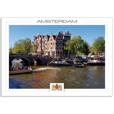 Amsterdam a19-004 Prinsengracht and Brouwersgracht