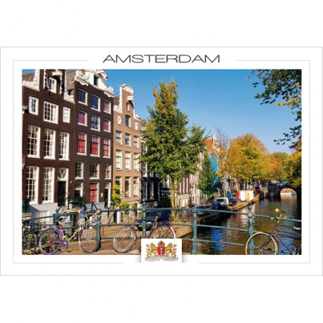 Amsterdam a21-001 Canals and canal houses