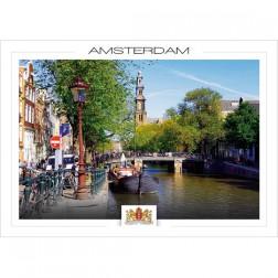 Amsterdam a21-002 Prinsengracht West church