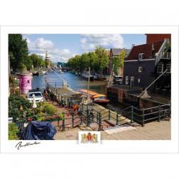 Amsterdam a21-003 Oude schans Montelbaanstoren