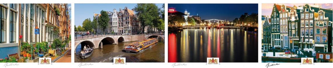banner kaarten Amsterdam