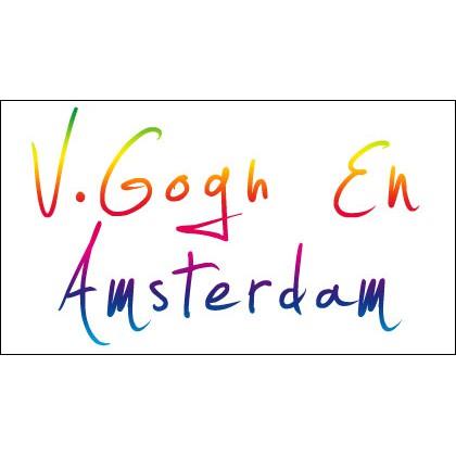 Van Gogh art and Amsterdam postcards