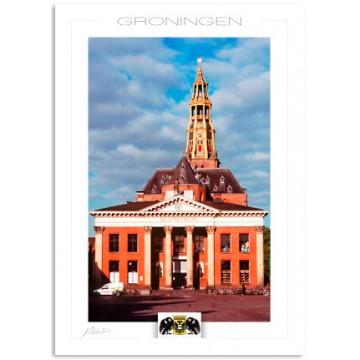Groningen Korenbeurs Aa church