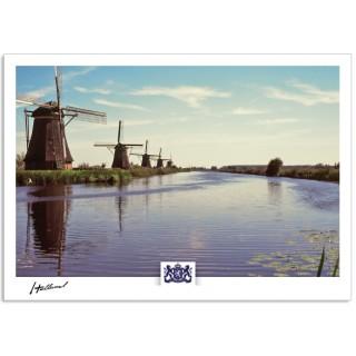 h17-006 Holland molens Kinderdijk