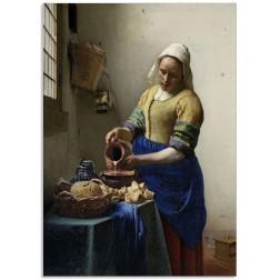 Art200CL postcard The Milkmaid Johannes Vermeer