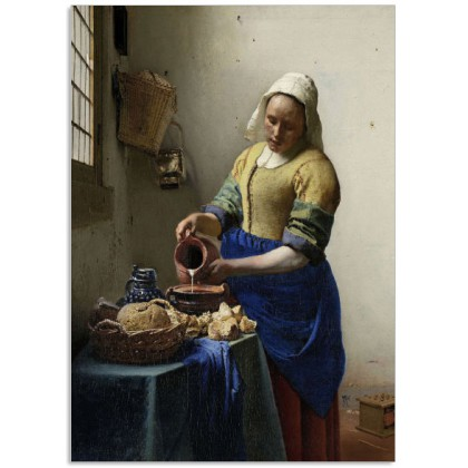 Art200CL postcard The Milkmaid Johannes Vermeer