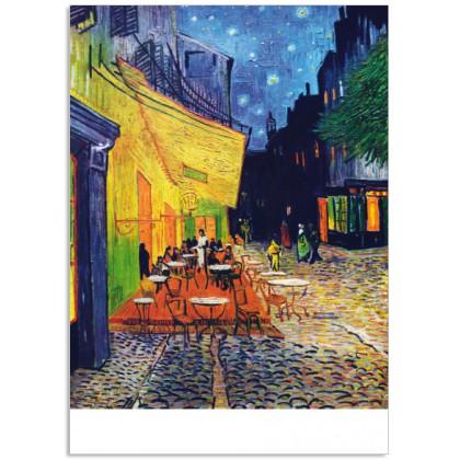Art17 postcard Cafe Terrace at Night Vincent van Gogh