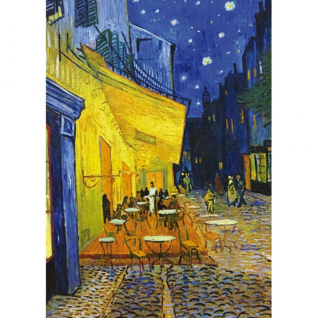 Art17cl postcard Cafe Terrace at Night Vincent van Gogh