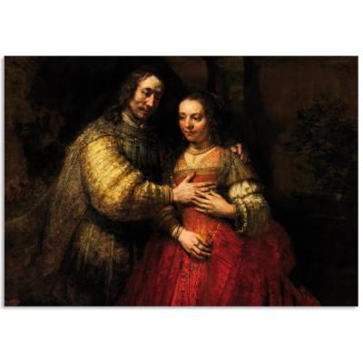 Art101 postcard Jewish bride Rembrandt