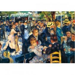 RenArt02 postcard Bal le moulin de la galette. Renoir