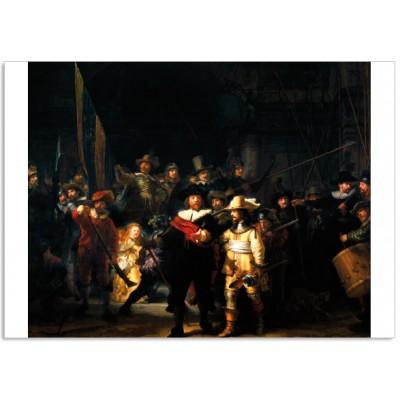 Art100 postcard Nachtwacht Rembrandt