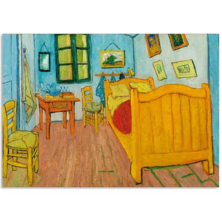 Art21cl postcard The bedroom Vincent van Gogh