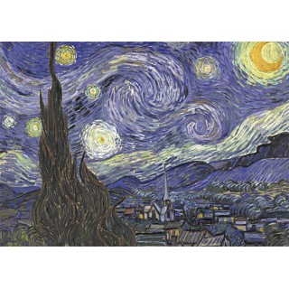 Art20 postcard Starry night Vincent van Gogh