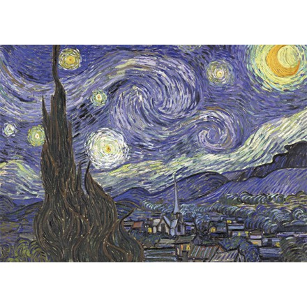 Art20 postcard Starry night Vincent van Gogh