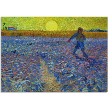 Art16 postcard The sower Vincent van Gogh