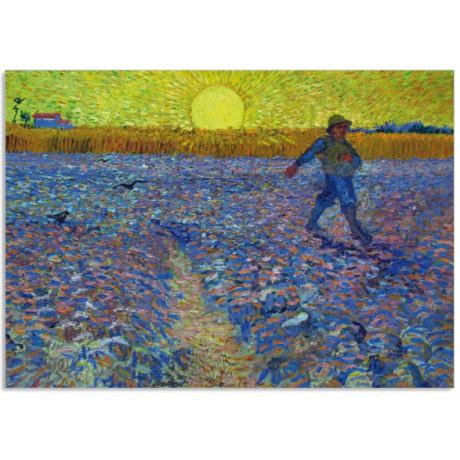 Art16 postcard The sower Vincent van Gogh