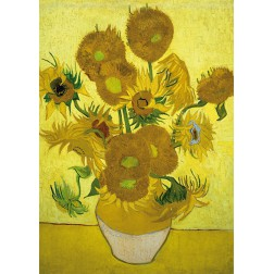Art18 postcard Sunflowers Vincent van Gogh