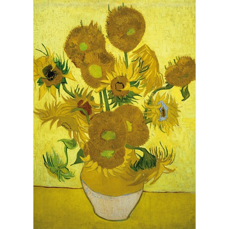 Art18 postcard Sunflowers Vincent van Gogh
