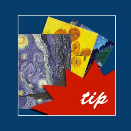 Postcards Dutch Art. van Gogh postcards