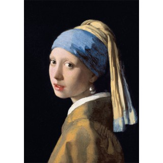 Poster Girl with the pearl earring Johannes Vermeer