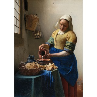 Poster Melkmeisje Johannes Vermeer