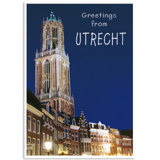 Utrecht 04 Dom by night